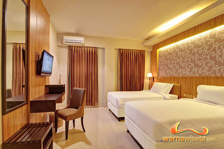 twin bedroom, hotel the grand bali park
