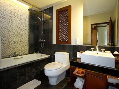 premiere deluxe bathroom