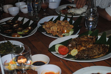 menu cafe jimbaran
